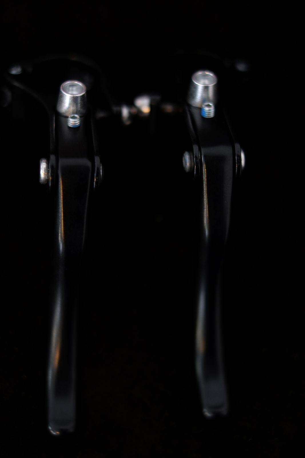 Promax Bremshebel Set Pro Max Retro Lever Singlespeed in silber oder schwarz