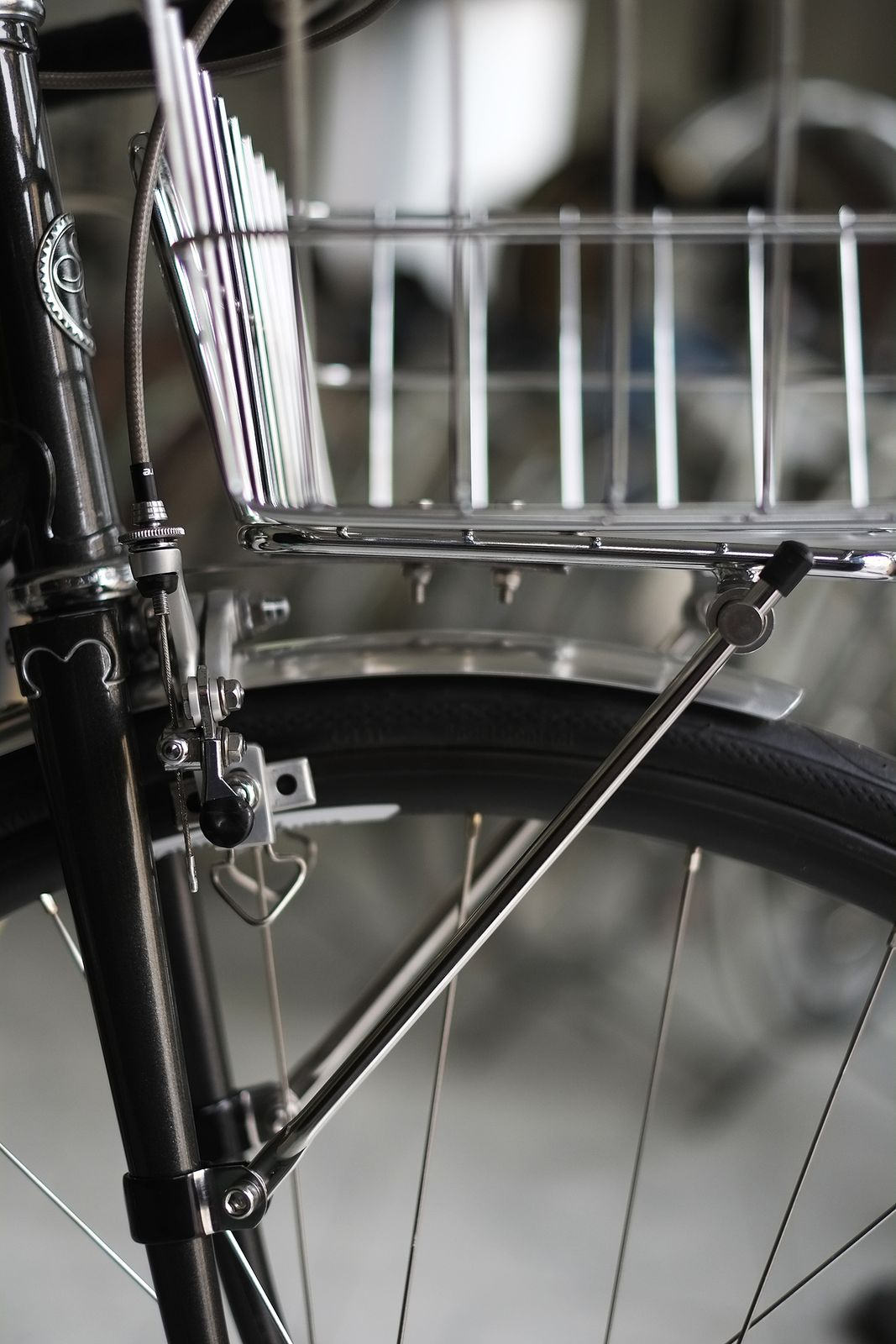 BLB Rack /& Basket Combo//Basket Rack combination or only Front Luggage Carrier Chrome