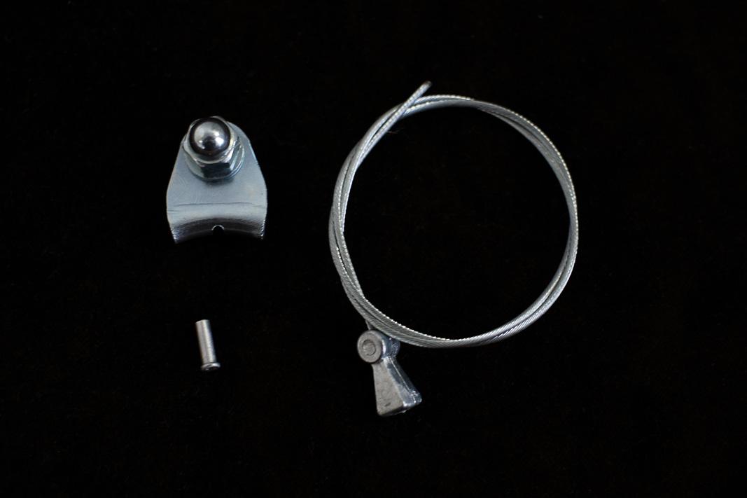 Querzug für Canti-// Mittelzugbremse 380mm mit Kabelhalter// Querzugträger