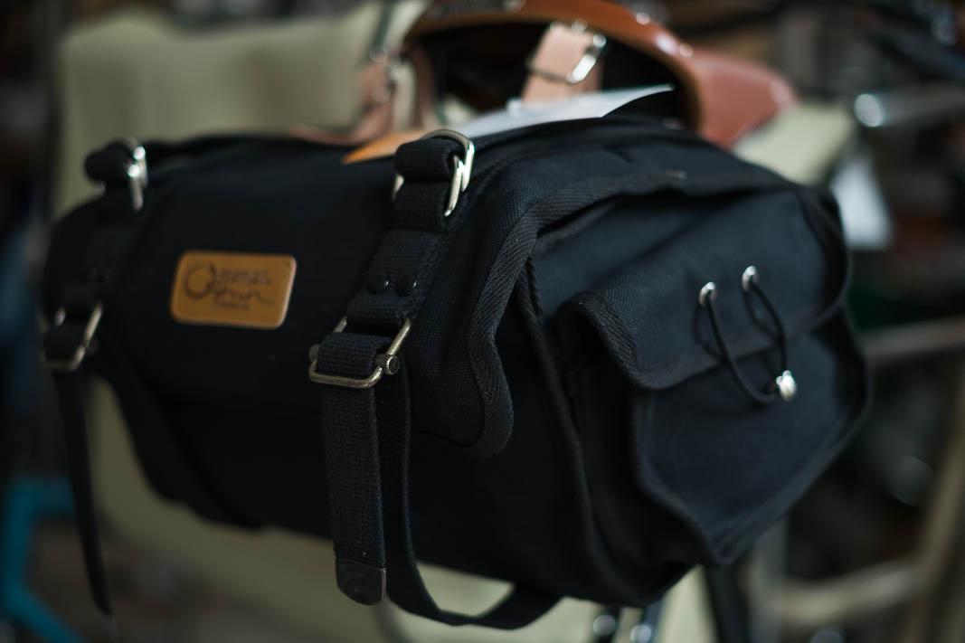 NEW OSTRICH Saddle Bag S-2 Satteltasche