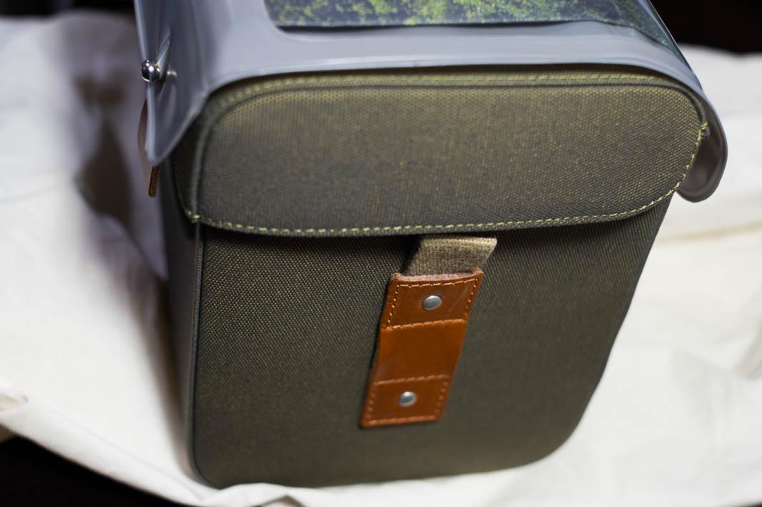 Brooks Handlebar Bag Isle of Skye Handlebar Bag Shoulder Bag Black #green #honey